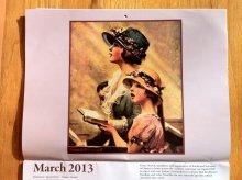 他の写真1: ノーマン・ロックウェル 2013年13ヶ月カレンダー (2012年12月〜2013年12月)