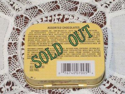 画像2: sold ホイットマンズサンプラーチョコレートのティン缶