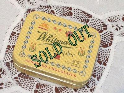 画像1: sold ホイットマンズサンプラーチョコレートのティン缶