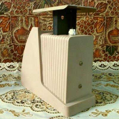 画像3: ビンテージ・ポスタル・スケール(郵便秤) 2ポンド秤 ※オンス-ポンド計量のみ アメリカの1967年1月15日郵便料金レート版