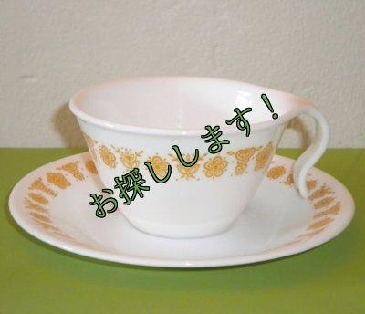 画像2: sold コレール (コーニング社) バタフライゴールド 5ピースセット AS IS