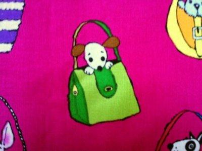 画像4: American Designer Fabric,  Pocket Pups by Michael Miller Fabric,