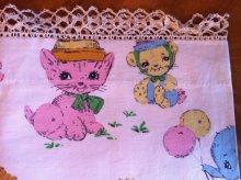 他の写真1: Vintage Baby Fabric Cover, Lace Edged