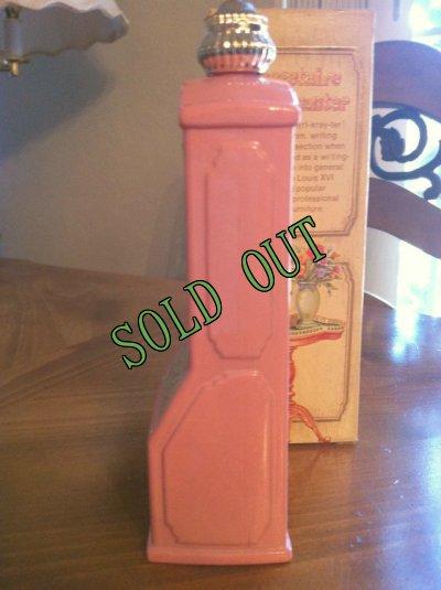 画像4: sold Avon, Pink Glass, Seeretaire Decanter, Brocade (5 fl.oz) with Box with Box