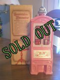 sold Avon, Pink Glass, Seeretaire Decanter, Brocade (5 fl.oz) with Box with Box