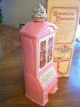 画像2: sold Avon, Pink Glass, Seeretaire Decanter, Brocade (5 fl.oz) with Box with Box (2)
