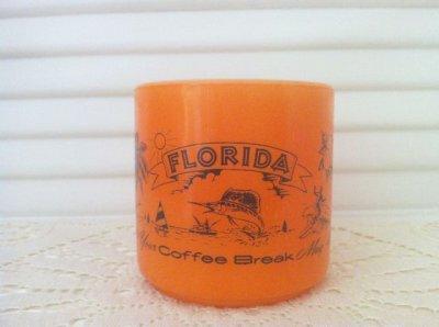画像2: フェデラル ミルクグラス ステイト・マグ フロリダ州