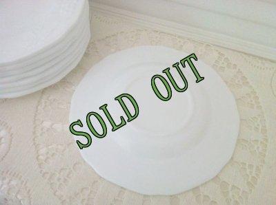 画像2: sold インディアナグラス ミルクグラス ハーベストグレープ ブレッド&バター・プレート