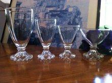 他の写真1: sold アンカーホッキング ブーピー アンバーカラーのシャンパングラス(シャーベットグラス)