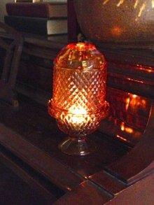 他の写真2:  sold L.E.スミス フェアリーランプ キャンドルホルダー ピンク・ホブネイル