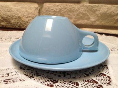 画像5: ビンテージ レノックス・ウエアー 朝食用3点セット メラミン(プラスティック)