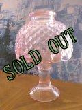 sold L.E.スミス フェアリーランプ キャンドルホルダー ピンク・ホブネイル
