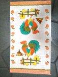 画像2: Vintage New Kitchen Linen, Rooster (2)