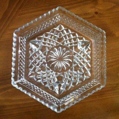 画像1: アンカーホッキング ウェックスフォード 六角皿