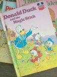 画像1: 洋書 ディズニー絵本 ドナルドの魔法の杖 1974年作 ハードカバー ランダムハウス(ニューヨーク)刊 (1)