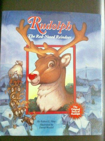 画像1: 洋書 ルドルフ〜赤鼻のトナカイ 1937年作 2001年グロセット&ダンランプ(ニューヨーク)刊 ハードカバー大型絵本