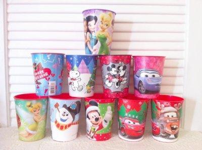 画像1: Brand New, Hallmark, Set of 10 Plastic Party Cups #4 (Disney / Snoopy / Cartoon)