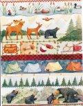 NWF(National Wildlife Federation) クリスマス 未使用ラッピングペーパー キャンプ