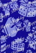 Wrapping Paper, Happy Birthday, 1 sheet