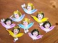 Vintage Victorian Scrap Die Cut Angels, made in Germany