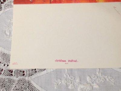 画像3: ビンテージ 使用済 クリスマスカード 船乗りサンタ
