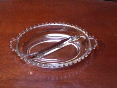 画像1: キャンドルウィック 楕円デバイデッド・ボウル 両ハンドル付き