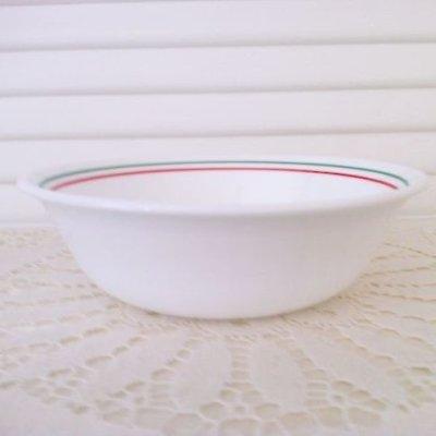 画像1: コレール(コーニング社)ウィンターホーリー スープ/ シリアル・ボウル