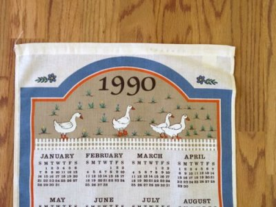 画像2: Vintage New Kitchen Linen, 1990
