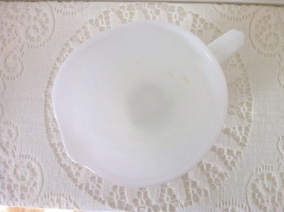 画像5: ファイヤーキング ミルクグラス ホブネイルピッチャー(S)