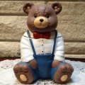 Bear Cookie Jar / new