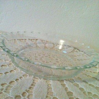 画像1: パイレックス オーブンウェア クリアガラス ミニパイプレート