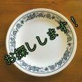 sold コレール(コーニング社)オールドタウンブルー ブレッド&バター・プレート(アクティブ)