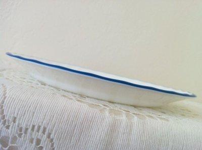画像5: コレール(コーニング社)ブルー・ベルベット 新品サラダプレート タグ付 1997〜2006年