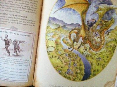 画像3: 洋書 ドラゴン学ノート―ドラゴンの追跡と調教 ドラゴン・モデルキット付[大型本] USED Dr. Ernest Drake作   Dugald A. Steer編