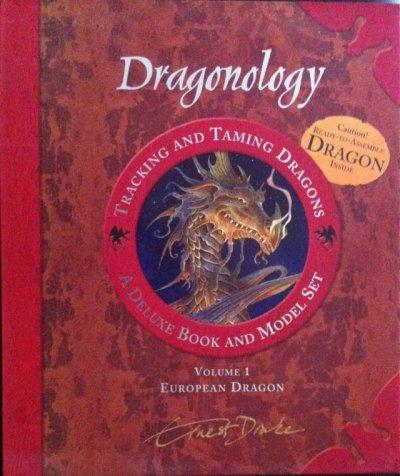 画像1: 洋書 ドラゴン学ノート―ドラゴンの追跡と調教 ドラゴン・モデルキット付[大型本] USED Dr. Ernest Drake作   Dugald A. Steer編