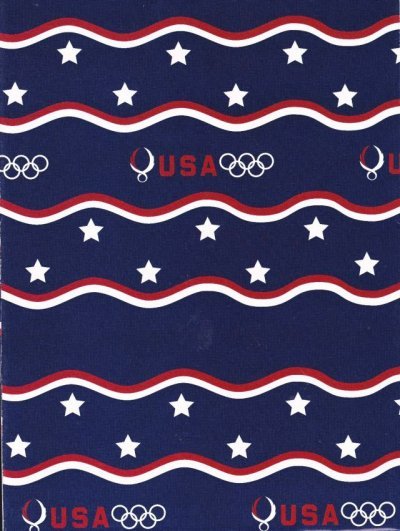 画像1: Wrapping Paper, Olympic USA