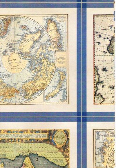 画像1: Wrapping Paper, Old Atlas