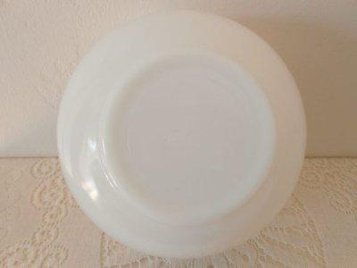 画像4: ファイヤーキング ミルクグラス ブルー・グレープ・チェイフィング・ディッシュ(料理保温用器具)(ミキシングボウル)