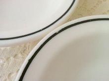 他の写真1: アンカーホッキング ミルクグラス・レストランウェア ブラック・ライン シリアル(デザート)ボウル