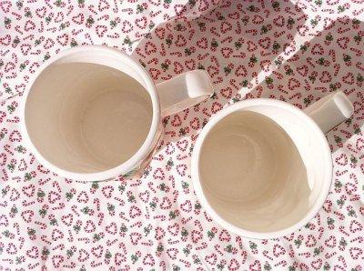 画像3: ビンテージ・ヨセフ・オリジナル トム&ジェリー クリスマス陶器マグ 2個セット