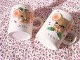画像4: ビンテージ・ヨセフ・オリジナル トム&ジェリー クリスマス陶器マグ 2個セット (4)