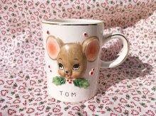 他の写真2: ビンテージ・ヨセフ・オリジナル トム&ジェリー クリスマス陶器マグ 2個セット