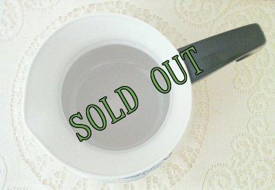 画像2: sold コーニングウェア ブルーコーンフラワー 6カップ ティーポット(黒蓋)