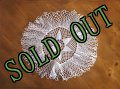 sold Vintage Lace Doily  #4