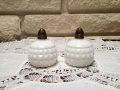 Vintage Made in Japan Diamond Point Salt & Pepper