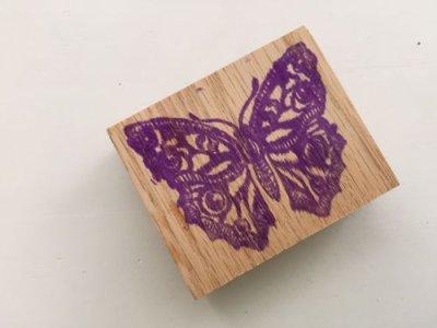 画像1: Stamp Butterfly #1
