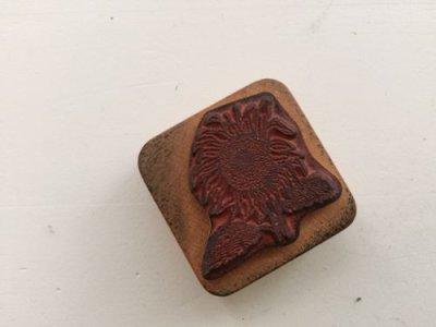 画像2: Stamp Co-Motion Stamps Sunflower