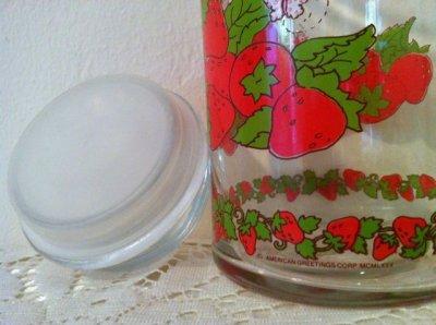 画像3: アンカーホッキング ストロベリーショートケーキ ガラスキャニスタージャー(大)