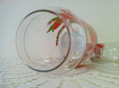 画像4: アンカーホッキング ストロベリーショートケーキ ガラスキャニスタージャー(大)