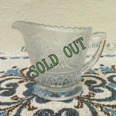 画像1: sold 【限定奉仕品】ダンカン&ミラー グラス(1925年〜1965年) サンドイッチ クリアー クリーマー